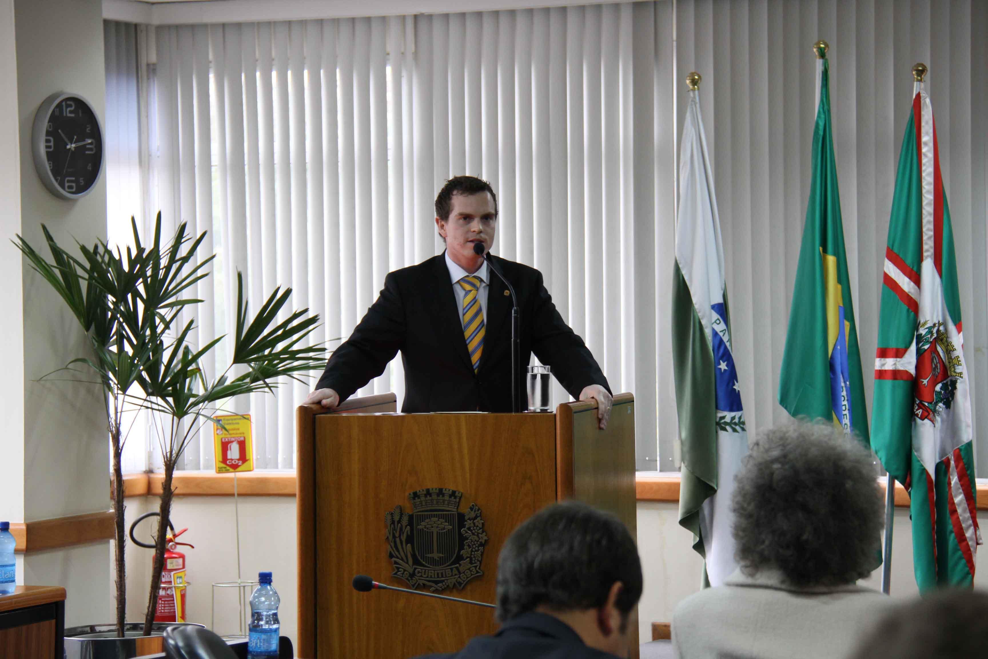 Campanha Porção Responsável, resultado de projeto de lei do vereador Bruno Pessuti, é lançada em Curitiba - Bruno Pessuti