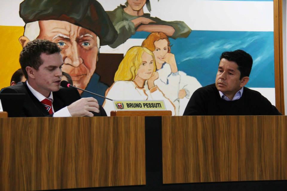 Bruno Pessuti solicita parecer à Procuradoria da Câmara sobre legalidade de retenção de ISS feita pela Urbs - Bruno Pessuti