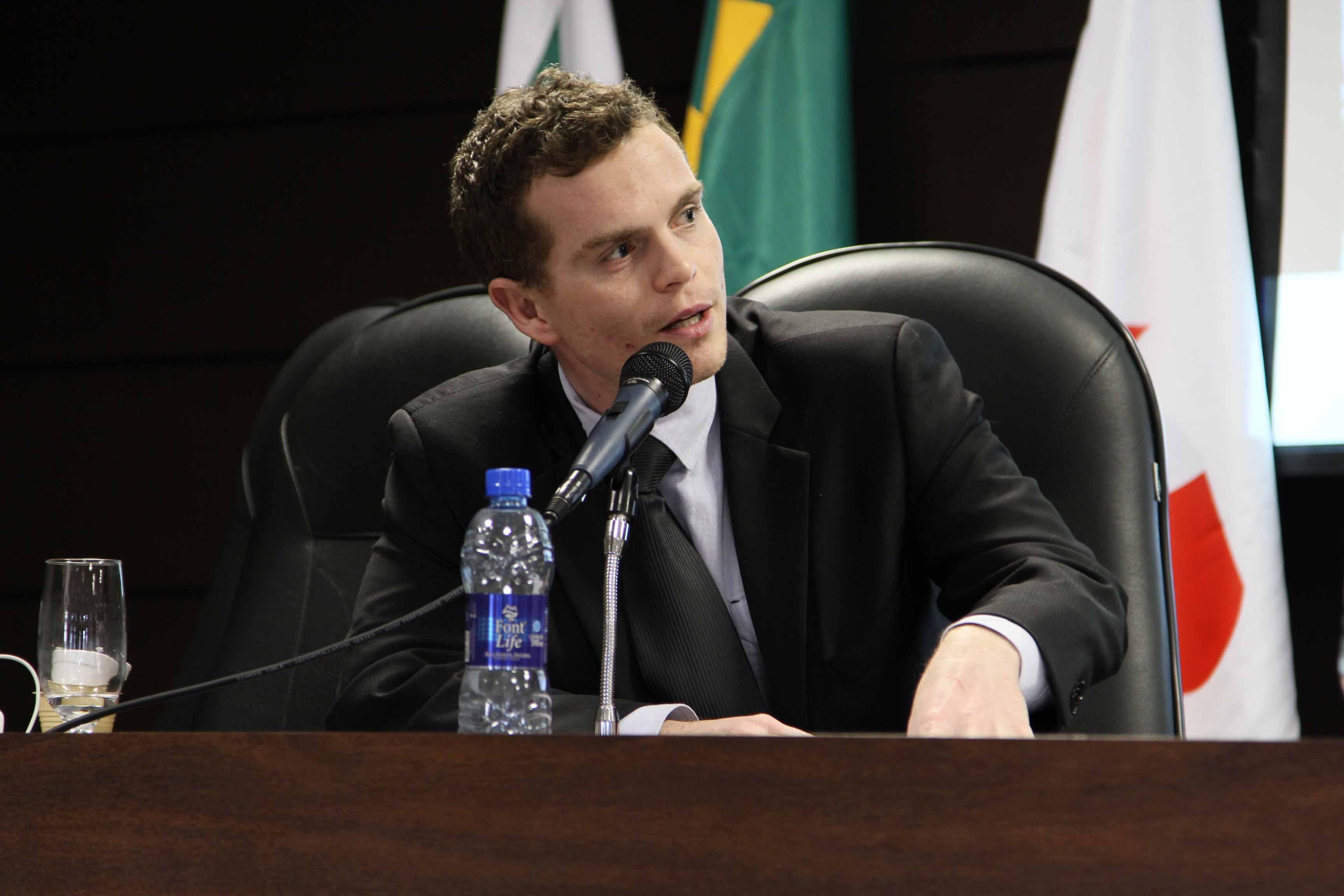 Na OAB, Pessuti representou a Câmara em debate sobre APPs - Bruno Pessuti