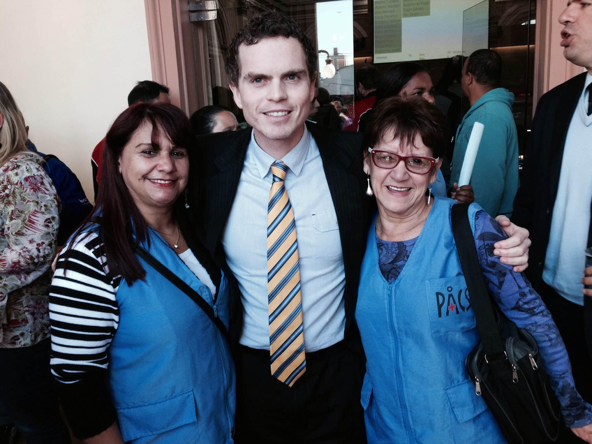 Bruno Pessuti apoia os direitos dos Agentes da Saúde em Sessão Plenária - Bruno Pessuti