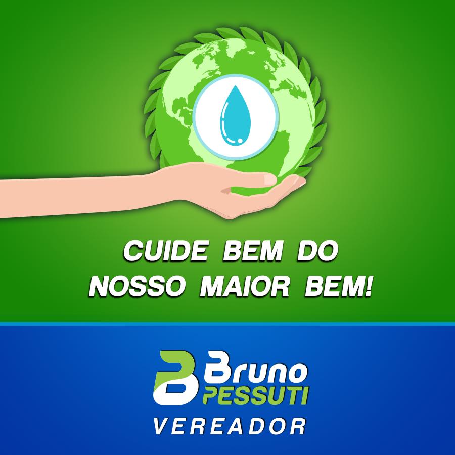 22 de março é o Dia Mundial da Água! - Bruno Pessuti