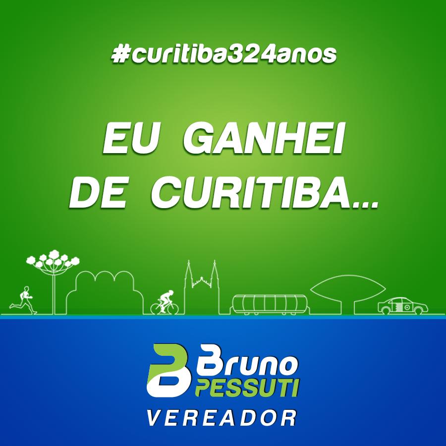 Feliz aniversário Curitiba! - Bruno Pessuti