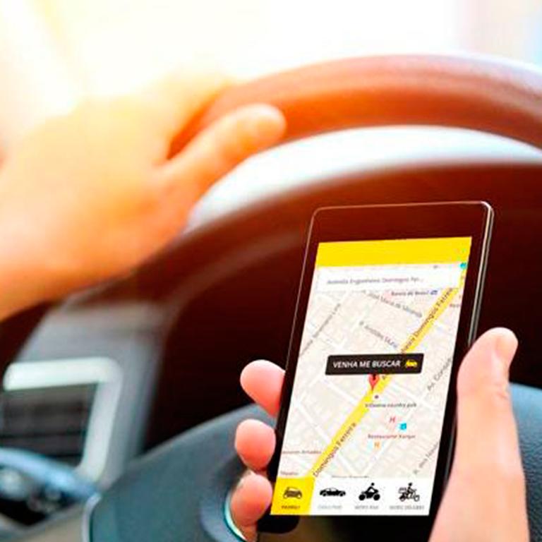 Os aplicativos já são realidade na cidade, com utilização cotidiana! - Bruno Pessuti