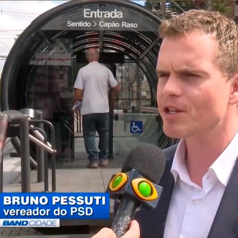 Bilhete Único no Band Cidade - Bruno Pessuti