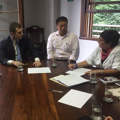 Bruno Pessuti faz reunião no IPPUC sobre Lei de Zonemanto - Bruno Pessuti