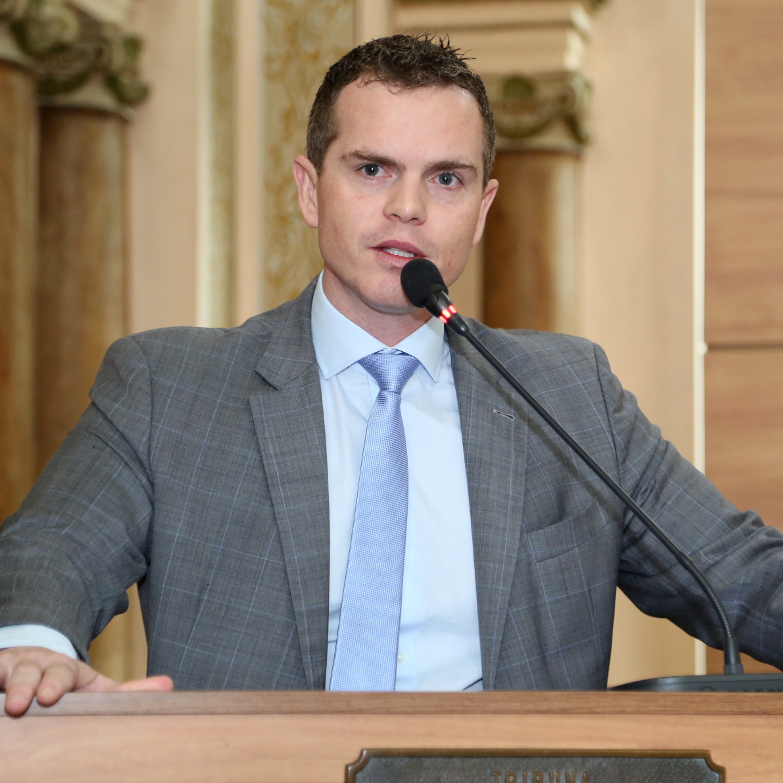 Bruno Pessuti, um vereador atuante. - Bruno Pessuti