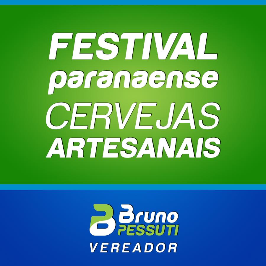 Projeto Festival Paranaense de Cervejas Artesanais - Bruno Pessuti