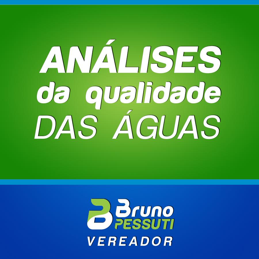 Projeto de Análise da qualidade das águas - Bruno Pessuti