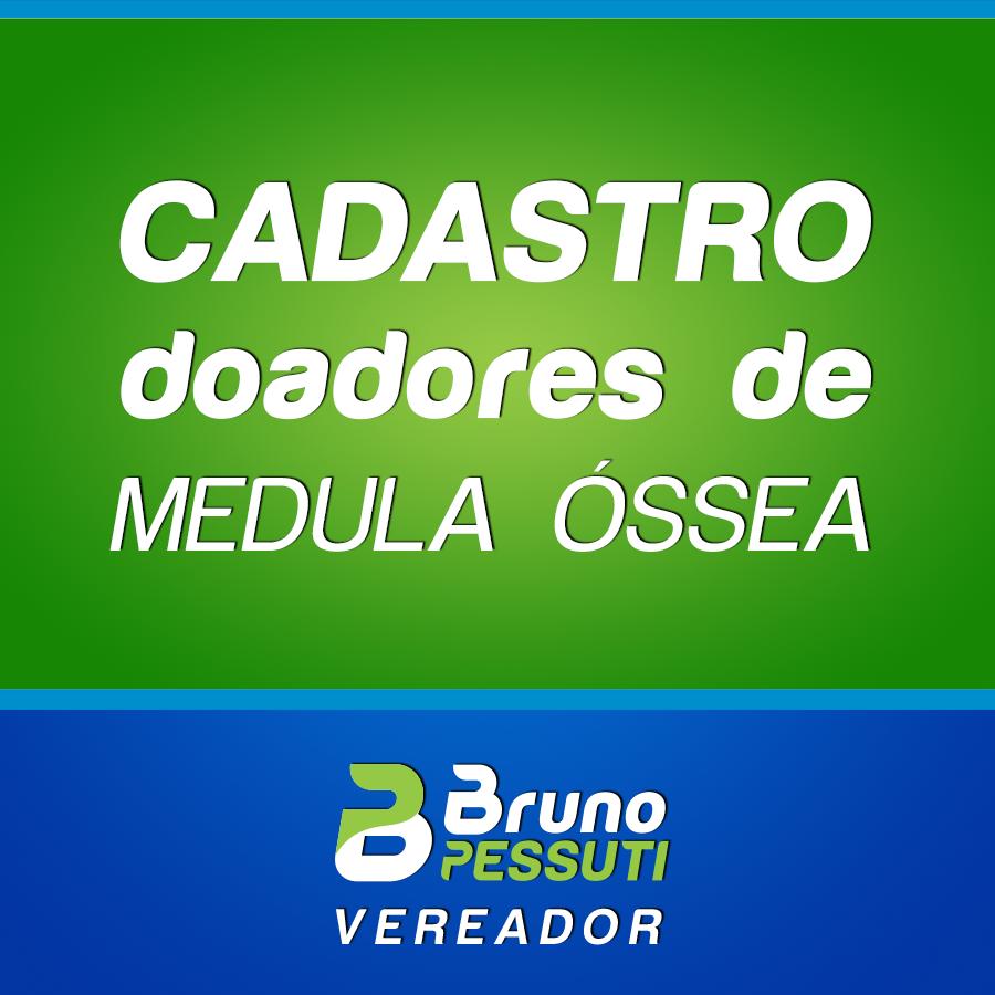 Projeto Cadastro de Doadores de Medula Óssea - Bruno Pessuti